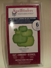 SPELLBINDERS NESTABILITIES LABELS THIRTY-ONE (6 DIES) S4-406 BNIP