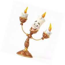 Beauty And The Beast Lumiere Stone Resin Figurine 4.75 Inch Home Decor Accents
