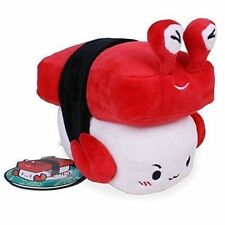 "Sushi Cushion Crab by Choba 6"" 15cm Japanese Food Plush Toy Decoration Pillow CA"