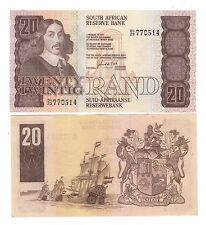 Sud  South Africa  20 rand    1982 1985 Pick 121c   qFDS aUNC    rif 56