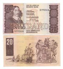 Sud  South Africa  20 rand    1982 1985 Pick 121c   qFDS aUNC    rif 56