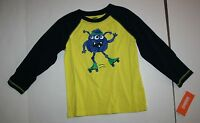 New Gymboree Boys Roller Skate Monster Raglan Tee Top 18-24 M NWT Woodland Party