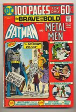 Brave and the Bold #113 (1974) FN/VF (7.0) ~ Batman & Metal Men ~ Bob Haney