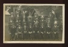 Hampshire Hants SOUTHSEA 1912 group London? men RP PPC American Studios