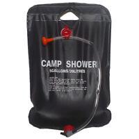 Solardusche Camping-Dusche Bag 20 Liter Schwarz A2W1 G8R8