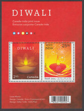 Canada - *NEW* DIWALI Souvenir Sheet - Joint Issue with India - MNH