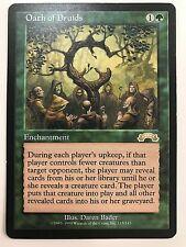 MAGIC MtG - GIURAMENTO DEI DRUIDI - OATH OF DRUIDS -  EXC/NM  ENG
