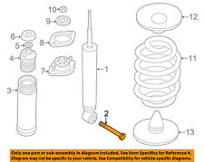 BMW OEM 03-08 Z4 Rear Suspension-Shock Bolt 07119900402
