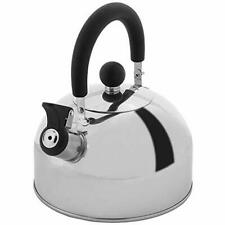 Lily's Home 2 Quart Stainless Steel Whistling Tea Kettle, the Perfect Stovetop T