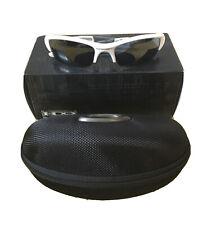 Oakley Flak Jacket Sunglasses Polished White w/ Black Iridium Lenses OAK-03-882
