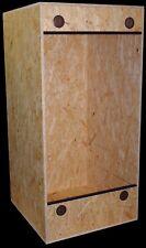 Terrarium ( Hochterrarium ) 60x60x120 , OSB , Frontbelüftung