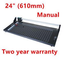24'' Precision Rotary Paper Trimmer Sharp Photo Paper Cutter + A4 Cutting Mat