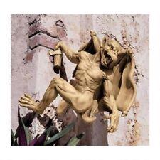 Historic Medium Medieval Gothic Sculpture Mythical Gargoyle Wall Statue