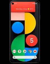 Google Pixel 5 5G (2020) 128GB Just Black Factory Unlocked Brand new Sealed box