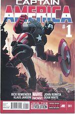 Captain America #1-25 (NM/MT 1st Prints) (Complete 2014 Series)