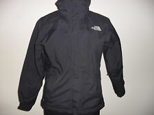 WOMENS THE NORTH FACE HYVENT BLACK  JACKET SIZE MEDIUM