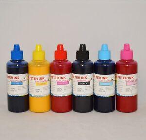 CISS CIS 6X100ML Sublimation refill Ink alternative for XP - 970 Printer C