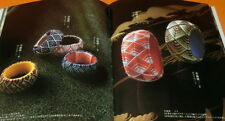 Japanese Kaga Province Thimble made by Silk Thread book from Japan sewing #0774