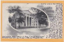 Frederick MD Postcard - Woman's College - Hood College