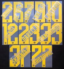 INTER KIT NOME+NUMERO UFFICIALE 2019-2020 3RD OFFICIAL NAMESET