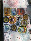 EMS collectible patches, some fire some rescue