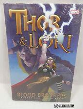 THOR & LOKI Blood Brothers MARVEL New!! Sealed!! HARDCOVER Rodi + Ribic