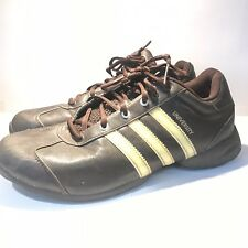 41419d264180 Vintage Style Adidas Adiprene University Trail shoes Brown and Yellow Size  8 US