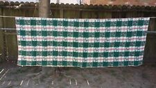 "Red Green White Christmas Plaid Rectangle 70'X52"" Tablecloth Free Shipping"