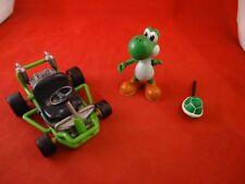Mario Kart Toybiz Nintendo 64 N64 Wind-Up Toy Biz Yoshi Racer Cart & Figure