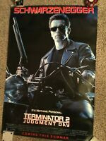 T2 Judgment Day 1991 Rolled 27x40 Teaser 1-Sheet Poster