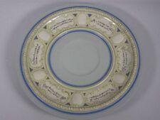 Alter, großer V&B Keramikteller von Bowle-Service, ca. 41,5 cm Ø    4T4577