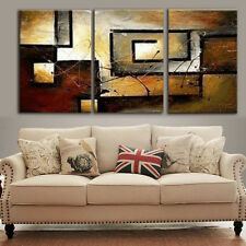 3Pcs Modern Canvas Abstract Print Wall Art Painting Picture Home Decor Unframe