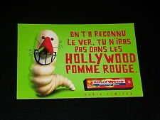 CARTE POSTALE PUBLICITAIRE - HOLLYWOOD CHEWING GUM - VER - 1998