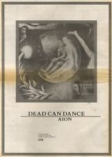 7/7/90 Pgn02 Advert: Dead Can Dance aion The New Album Available Now 15x11