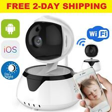 Video Baby Monitor IP Camera WiFi Night Vision Wireless 2 Two Way Pet Portable