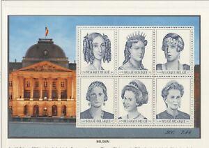 BL 069 2000 Belgium Royalty (UMNH) Block