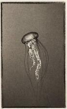 Ryuijie, Jellyfish, 4x6, 2013 Signed Platinum Underwater Photograph