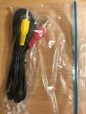 2.5mm Trs to Dual Rca Cable As-Is Unused with 3of3 Red/Yellow