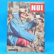 NBI 9/1961 DDR Meißen Borman Kinderlähmung Lumumba Oberhof Belgien Pellegrini