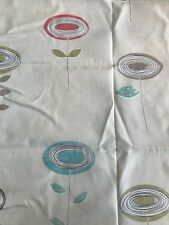 55cm HARLEQUIN Daphne cotton curtain upholstery fabric remnant