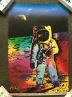 """Buzz Aldrin & Peter Max Signed """"Apollo 11 - Walking On The Moon 1969/1999"""" Print"""