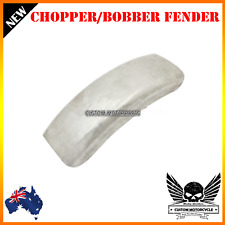 Unpaint metal custom front rear wheel fender mudguard chopper bobber cafe racer