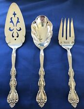 International Silverplate Interlude 3 Serving Pcs; Pie Server, Meat Fork & Spoon