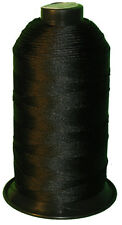 Black Bonded Nylon #92 T90 sewing Thread for canvas outdoor leather Upholstery