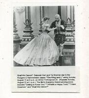 Yul Brynner,Deborah Kerr-The King And I   TV press photo MBX80