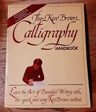 New listing The Ken Brown Calligraphy Handbook New Edition 1982 learn art beautiful writing