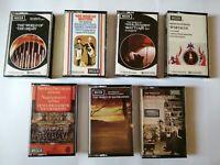 7x DECCA Vintage Cassette Tapes Bundle Dolby System Classical