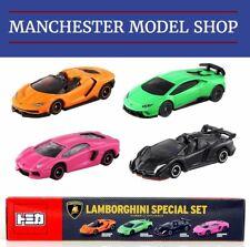 Tomica Lamborghini Special set Aventador, Veneno, Centenario, Huracán NEW BOXED