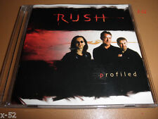 RUSH promo interview PROFILED CD (no music) GEDDY LEE alex lifeson NEIL PEART