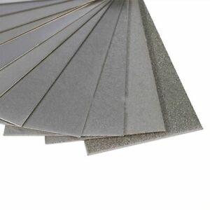 240-3000 Grit Diamond Thin Knife Blade Polishing Plate Sharpening Whetstone Tool